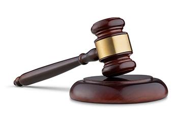 Legal gavel image